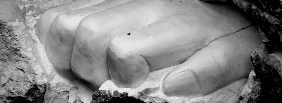 Sculpture aux Lapidiales